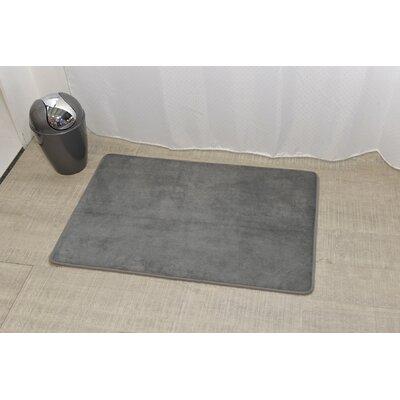 Douceur Ultra Soft Bath Rug Color: Gray