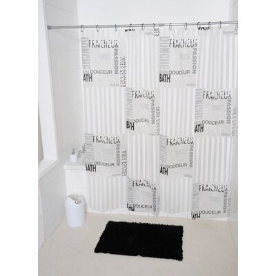 Writings Printed Shower Curtain