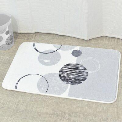 Essential Printed Microfiber Mat Bath Rug