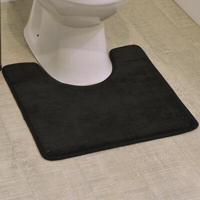 Non Skid Contour Mat Color: Black
