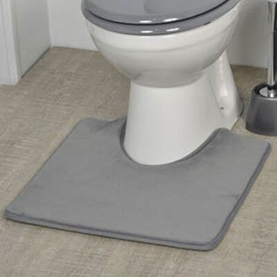 Non Skid Contour Mat Color: Gray