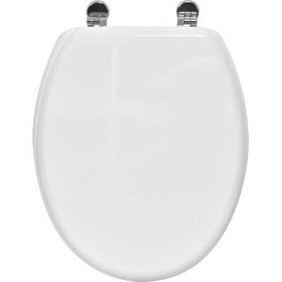 Pinky Elongated Toilet Seat Finish: White