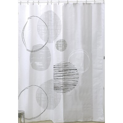 Essential Printed Shower Curtain