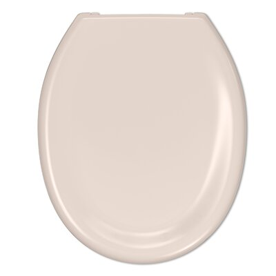 Dipper Slow Close Round Toilet Seat Finish: Almond