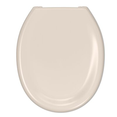Dipper Slow Close Round Toilet Seat Finish: Bisque