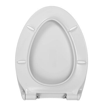 Grace Elongated Toilet Seat Finish: White