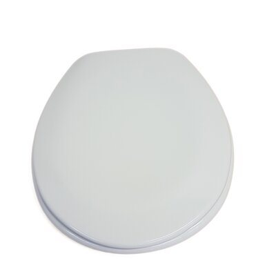 Moorea Round Toilet Seat Finish: White