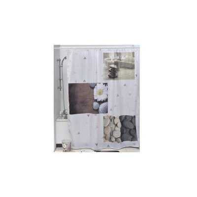 Zen Garden Printed Shower Curtain