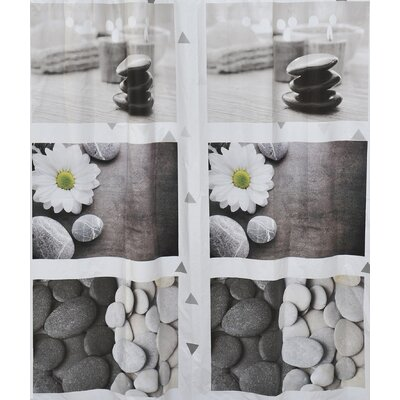 Zen Garden Printed Vinyl Shower Curtain