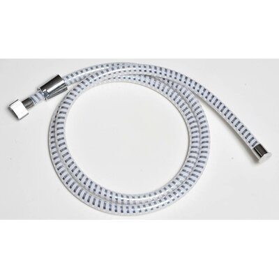 79 PVC Biflex Flexible Handheld Shower Hose Finish: White/Chrome