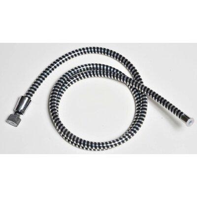 79 PVC Biflex Flexible Handheld Shower Hose Finish: Black/Chrome