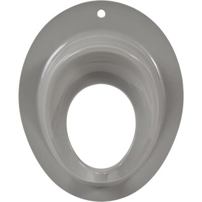 Round Toilet Seat Finish: Gray