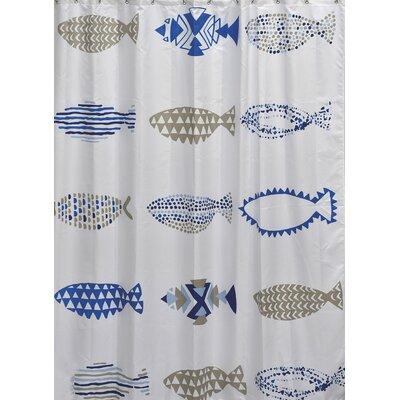 Nautical Printed Shower Curtain