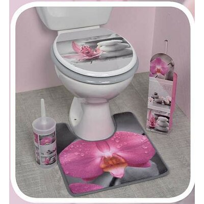 Chic and Zen Printed Duroplast Oval Toilet Seat