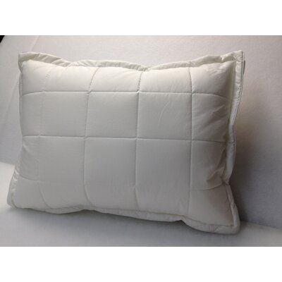 Quilted Polyfill Pillow Size: King