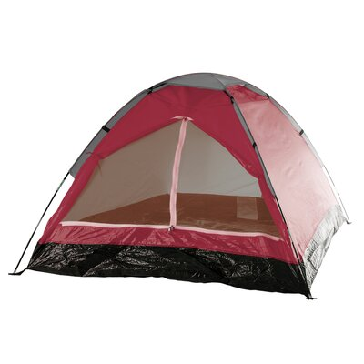 Happy Camper 2 Person Tent with Carry Bag Color: Red