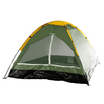 Happy Camper 2 Person Tent with Carry Bag Color: Green