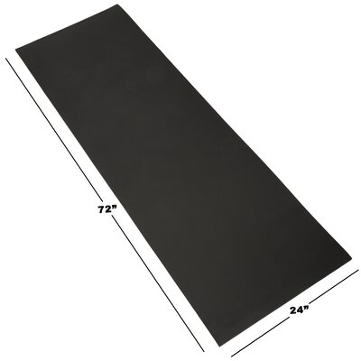 Foam Camping Sleep Mat Color: Black