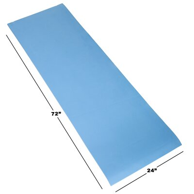 Foam Camping Sleep Mat Color: Blue