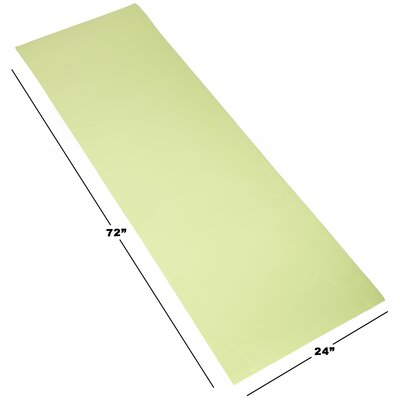 Foam Camping Sleep Mat Color: Green