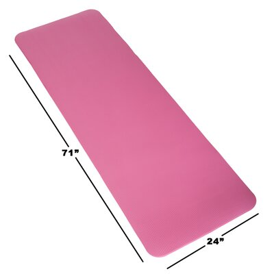 Non-Slip Foam Camping Sleep Mat Color: Pink