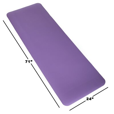 Non-Slip Foam Camping Sleep Mat Color: Purple