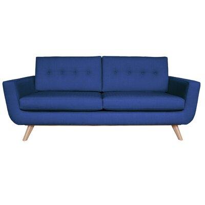 Callie Sofa Upholstery Color: Azure