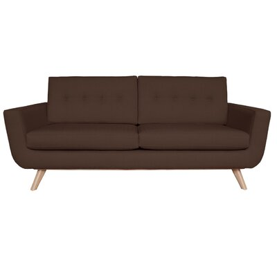 Callie Sofa Upholstery Color: Chocolate