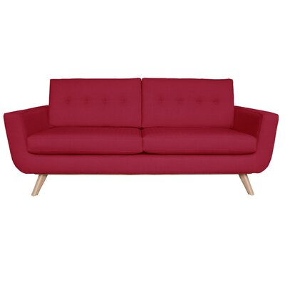 Callie Sofa Upholstery Color: Berry