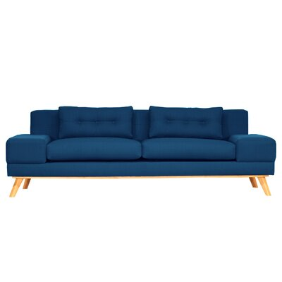 Delta Sofa Finish: Azure