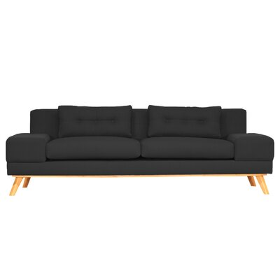 Delta Sofa Finish: Black