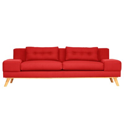 Delta Sofa Finish: Flame