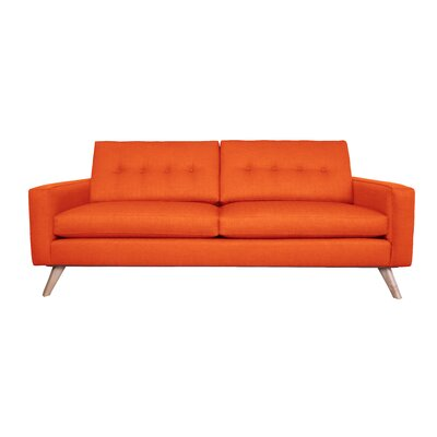 Amber Sofa Finish: Saffron