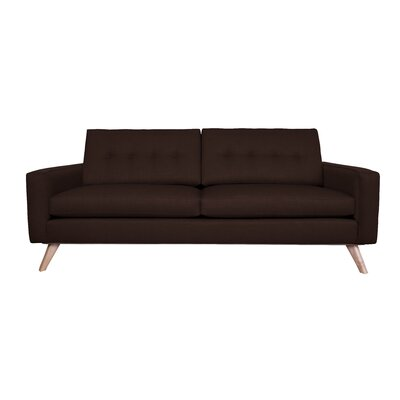 Amber Sofa Finish: Chocolate