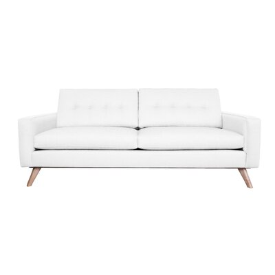 Amber Sofa Finish: White