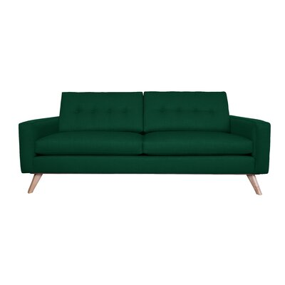 Amber Sofa Finish: Emerald