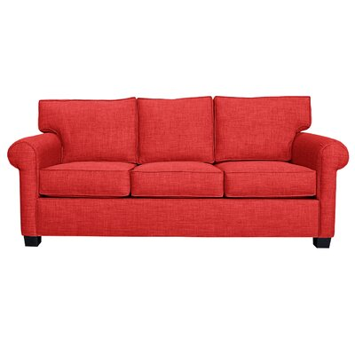 Ethan Sofa Finish: Red