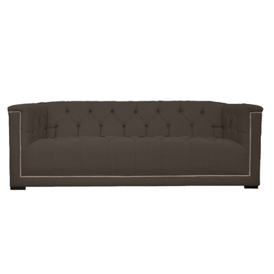 Lancaster Tufted Chesterfield Sofa Upholstery: Ireland Cafe