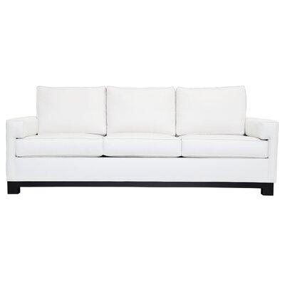 Grace Sofa Upholstery: Klein White