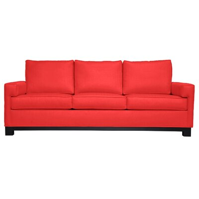 Grace Sofa Upholstery: Klein Flame