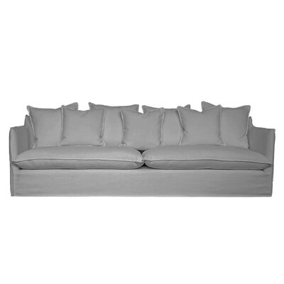 La Jolla Slipcover Sofa Upholstery: Smoke