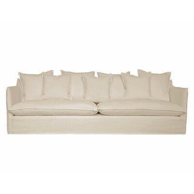La Jolla Slipcover Sofa Upholstery: Wheat