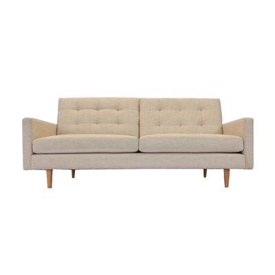 Lawrence Sofa Upholstery: Burlap