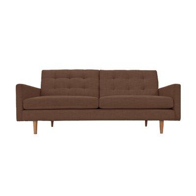Lawrence Sofa Upholstery: Chocolate