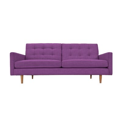 Lawrence Sofa Upholstery: Plum