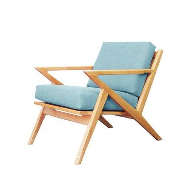 Ace Armchair Color: Bluebird