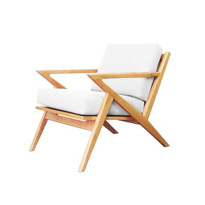 Ace Arm Chair Color: White