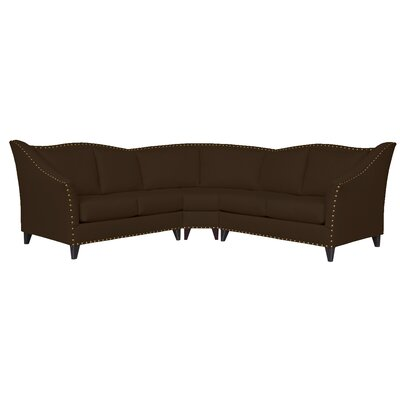 Carolina Modular Sectional Upholstery: Klein Chocolate