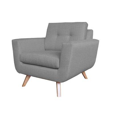 Callie Modern Armchair Upholstery : Grey
