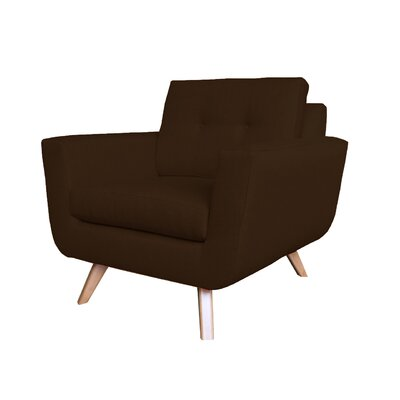 Callie Modern Armchair Upholstery : Brown